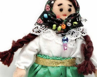 Cute traditional doll