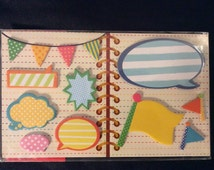 Clearance, Talk Bubbles and Flag Sticky Memo Set