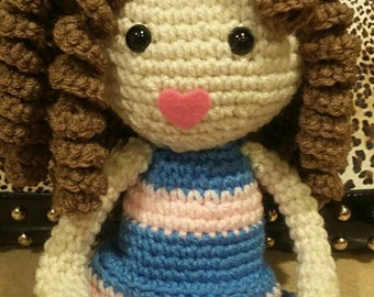 Brown Curls Doll