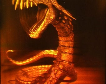 Motion  hologram-Dragon - big size
