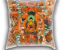 Chinese Art Buddha Thai Pillow cute gift