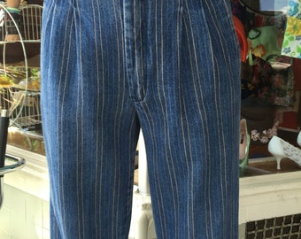 "80's Sergio valente Jeans/ trousers/30""w"