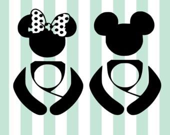 Minnie SVG file