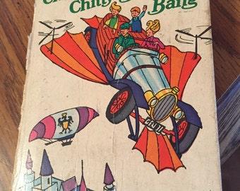 """Chitty chitty bang bang big little book,1968 4""""x5"""""""
