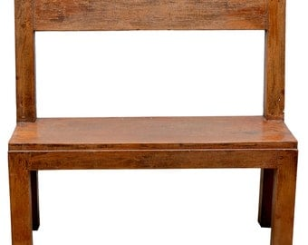 19th Century French School Bench