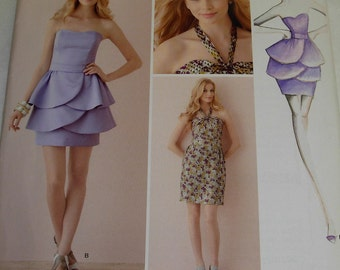 Simplicity Women's Misses Dress Pattern, By Leanne Marshall, Sizes 4, 6, 8, 10, 12