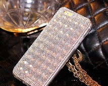 Luxury Silver Bling Rhinestone Hard Handcrafted Handmade 3D Cover Protective bling case HTC Desire 526, HTC Desire 626, 626s