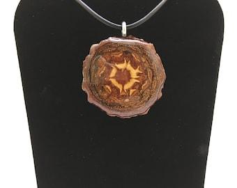 Pinecone Pendant (Standard Round #10)
