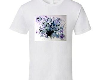 Violet Roses T Shirt