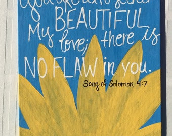 You are altogether beautiful painting