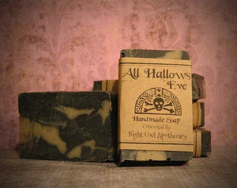 All Hallows Eve Handmade Soap
