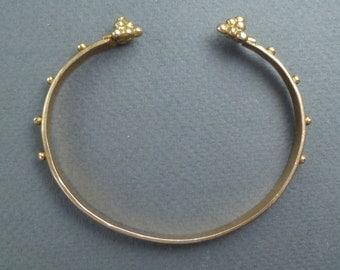10K Gold Etruscan Revival bracelet #2