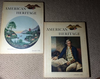 Two 'american heritage' books