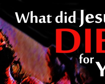 What did Jesus do? . . .  / Yard Banner (G5815-2)