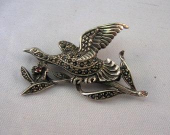 Vintage Sterling Silver Pin / Brooch