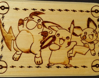 The Many Faces of Pikachu