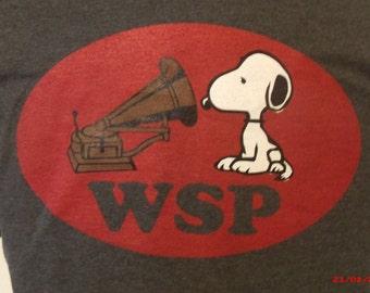 Widespread Panic Shirt. C. Brown shirt.