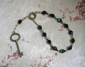 Hekate (Hecate) Mini Prayer Beads: Greek Goddess of Magic, Witchcraft, Night, Darkness, Protection of the Home & Women