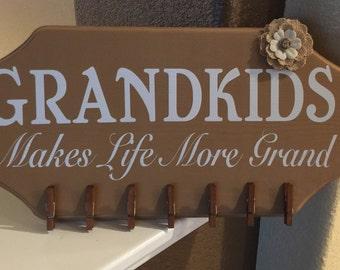 Grandkids Wooden Sign