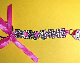 Personalized Hello Kitty Keychain