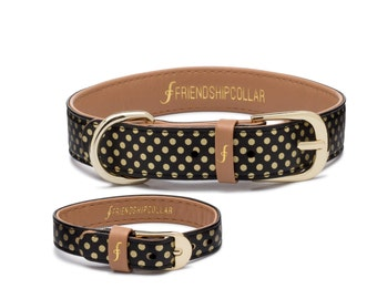 Dotty About You - FriendshipCollar & matching friendship bracelet