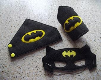 Batman Mask and Cuffs