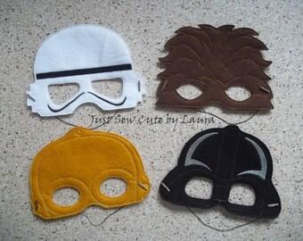 Star Wars Machine Embroidered Mask