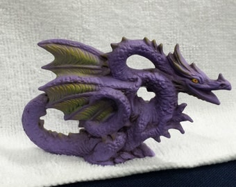 Ceramic Dragon with yellow wings (#390A)