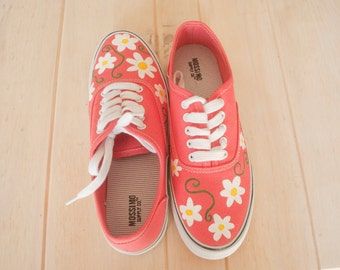 Flower Canvas Sneakers