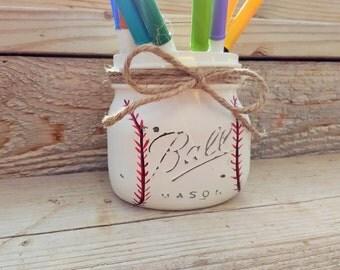 Baseball Decor,Baseball Shower Decor,Baseball Nursery Decor,Baseball Mason Jars,Baseball Decor,Baseball Mason Jars,Boy Shower Ideas