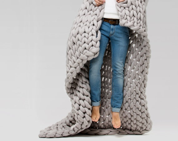 Ohhio 39 S Grande Punto Large Blankets Chunky Blanket By Ohhio