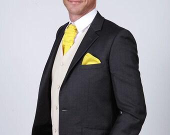 Matchimony Sun Yellow Men's Handkerchief