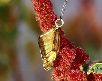 Yellow Butterfly Pendant