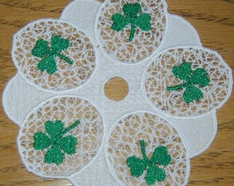 Shamrock Lace Machine Embroidery Designs