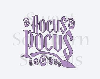 Hocus Pocus Stencil