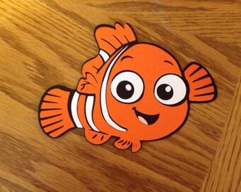 Nemo die cut from Finding Nemo