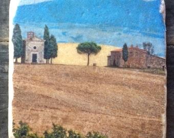 Tuscan Hillside Tile