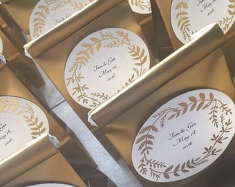 Coffee wedding favors wedding favors gold favors gold wedding favors coffee favors