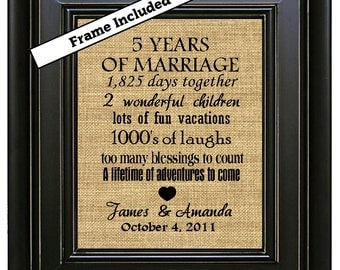 Wedding Anniversary Gifts Fifth Year : anniversary 5th anniversary gifts 5th wedding anniversary gift 5 years ...