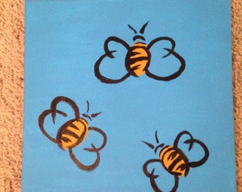 Bees Painting