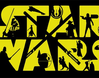 star wars, star wars svg, jedi svg, luke skywalker, luke skywalker svg, yoda svg, star wars life, svg, SVG Design Silhouette Studio Software