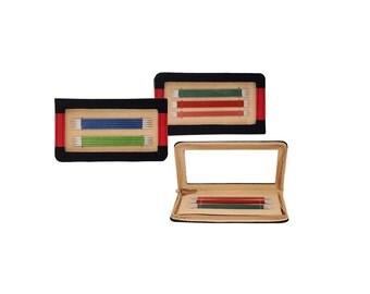 KnitPro Zing Double Pointed Needle Set, 5 sets 15cm DPNs, 5 of each size, knitting needle set, zing set