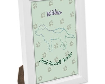 Jack Russell Terrier Breed Print by WildPaws