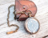 Groom Pocket Watch, Engraved Men Pocket Watch, Monogrammed Watch, Wedding Party Gifts, Personalized Groomsman Gift, Gift for Groom, Man Gift