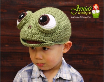 CROCHET PATTERN - Crochet Turtle Hat Pattern, Animal Hat Pattern for Baby, Toddler, Child, Adult, Girl, Boy - Photo Prop or Costume