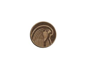 Pharaoh Laser Cut Lapel Pin