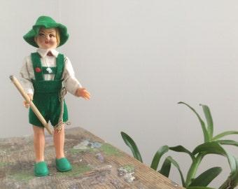 Small doll Austrian year 50