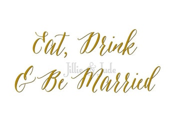 Eat, Drink & Be Married Download