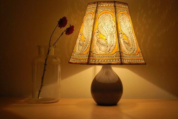 Oiseau abat-jour/abat-jour/chevet lampe/lampe/chambre à coucher abat-jours/grand abat-jour/lampe de table abat-jour/FREE BASE de MATCHING