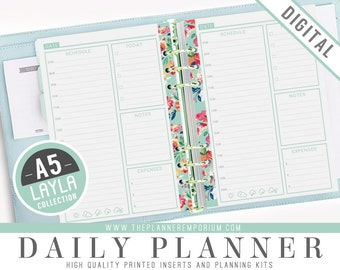 Day per page planner | Etsy